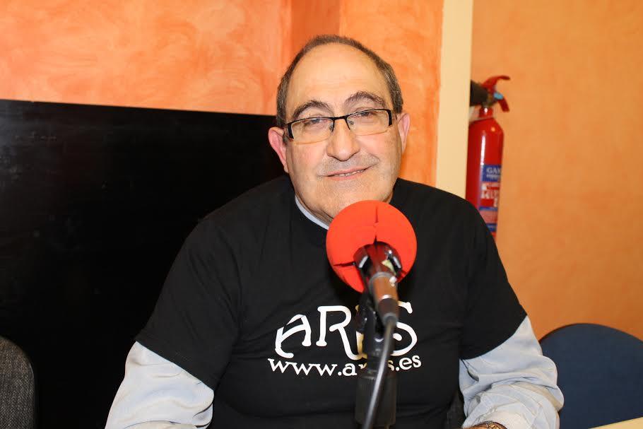 Foto del locutor Antonio Jiménez