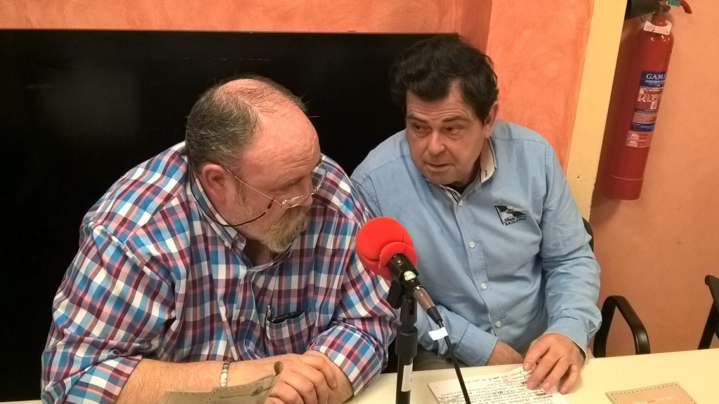 Transcurso de la entrevista a Eduardo Continente y Rodrigo Fuentes, del 'Grupo Paso Viviente' de CALAHORRA