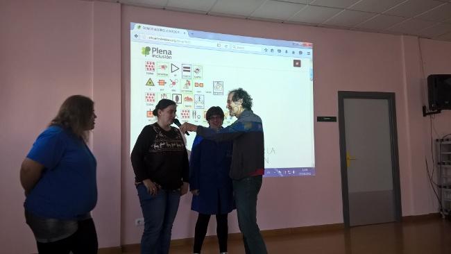 Alfonso Troya y premonitoras Vanesa, Inma y Raquel